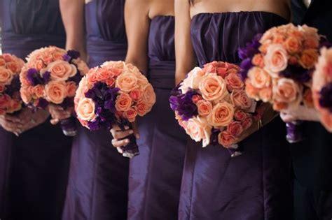 Peach And Purple Wedding Inspiration