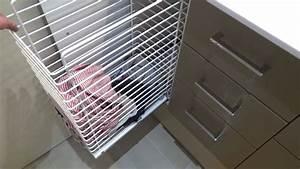 Meuble Panier à Linge : un meuble de salle de bains avec un panier linge int gr atlantic bain youtube ~ Teatrodelosmanantiales.com Idées de Décoration