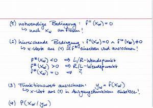 Fehlende Größen Im Dreieck Berechnen : wendepunkte berechnen lernwerk tv ~ Themetempest.com Abrechnung