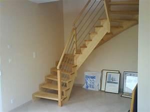 Escalier Quart Tournant Haut Droit : escaliers deparis 77 escaliers en bois sur mesure ile de ~ Dailycaller-alerts.com Idées de Décoration