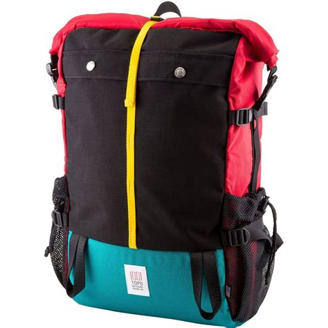 topo designs backpack topo designs mountain 22 4l roll top backpack