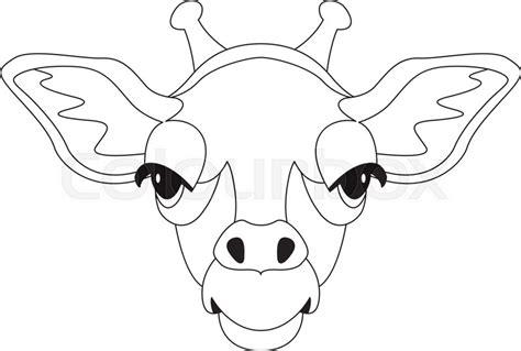 giraffe nose drawing