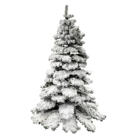 christmas tree with stand 1000 tips 7ft bushy snow