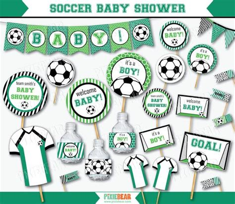 soccer baby shower soccer baby shower baby shower printables baby shower