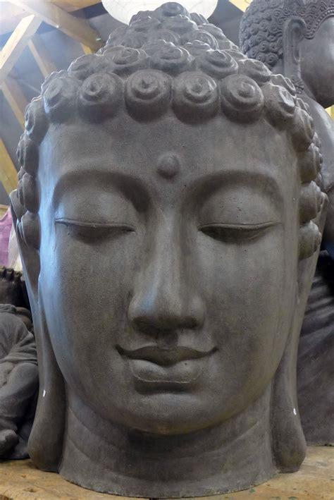Asiastyle  Buddhakopf Für Den Innenraum In 110 Cm Höhe