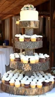 cake stands wedding wedding cakes tree stump cake stand 2030591 weddbook