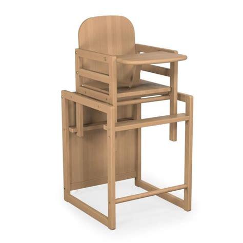 chaise haute bois evolutive chaise haute baby fox 233 volutive bois vernis marron achat