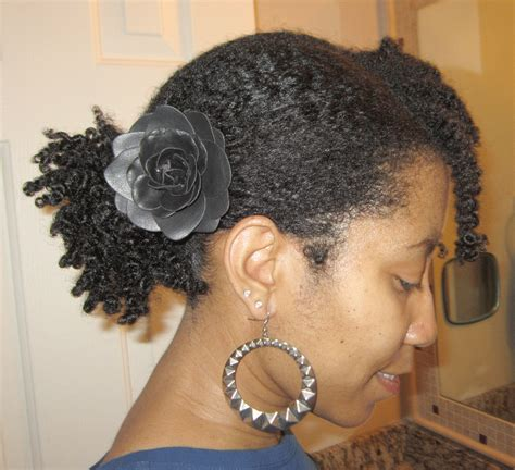 side pony hairstyle on hair