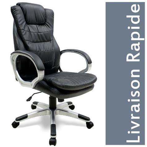 fauteuil chaise de bureau confortable et ergonomique imitation cuir avis 183 avis prix test