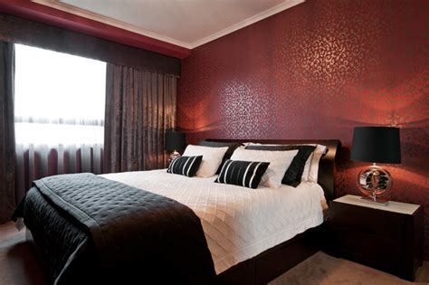 Unique Red Bedroom Ideas And Photos