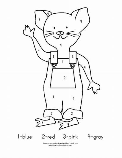 Mouse Coloring Pages Take Give Activities Printable