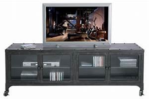 Meuble Tv Style Industriel Pas Cher : deco usine pas cher ~ Teatrodelosmanantiales.com Idées de Décoration