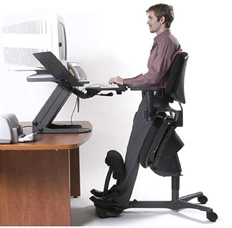 ergonomic kneeling drafting chair minus that computer haha office kneeling