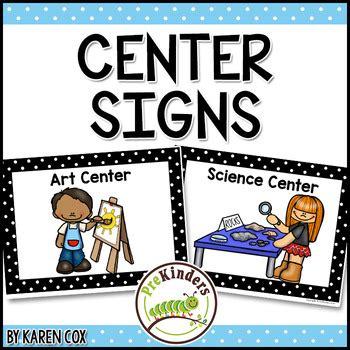 center signs for preschool amp pre k by cox tpt 443 | original 286991 1