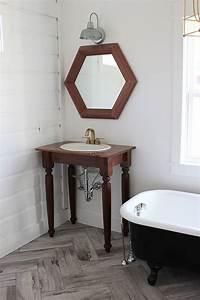 Applique Salle De Bain Noire : meuble salle de bain r cup 70 id es pour une d co qui respire l authenticit obsigen ~ Teatrodelosmanantiales.com Idées de Décoration