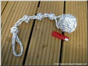 Paracord Projects  How To Tie A Monkey Fist Knot