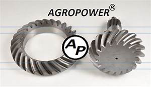 MAN Truck Gearbox Crown Wheel and Pinion - Ringgearpinions