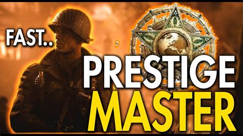 How To Rank Up Fast In Cod Ww2! Prestige Master Level Up Fast In World War 2 Youtube