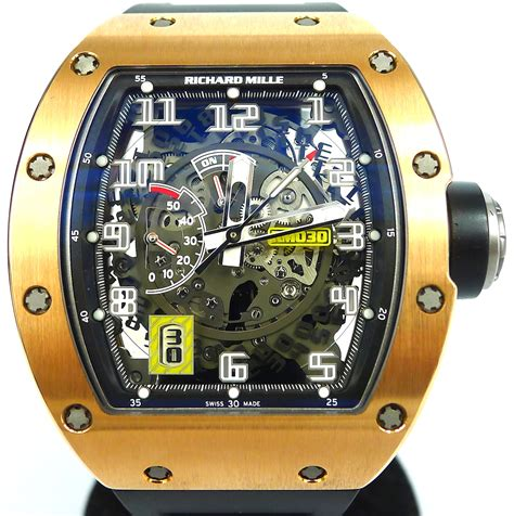 richard mille rm rose gold gr luxury singapore rolex
