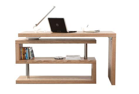 bureau contemporain bois bureau design bois amovible max miliboo