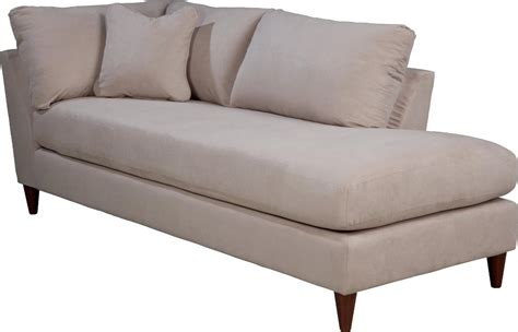 contemporary left arm sitting chaise lounge with toss