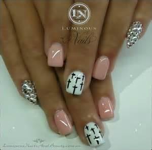 Designs nails stilettos gel design art accent
