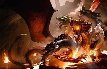 Dragon Dragons Fantasy Realms Dungeons Forgotten Magic