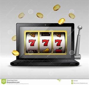 Online Gambling Concept Stock Vector - Image: 45697891