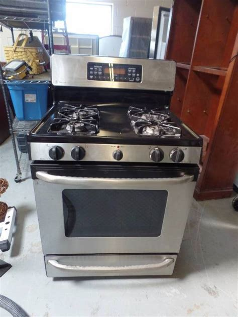 ge profile performance spectra xl gas stove  oven ma williams commercial  home