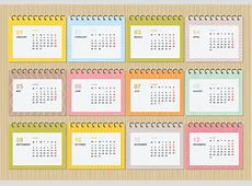 2018 Calendar Free Vector Art 1394 Free Downloads