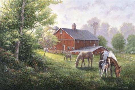 country road  horsesbarn fine art print  john zaccheo
