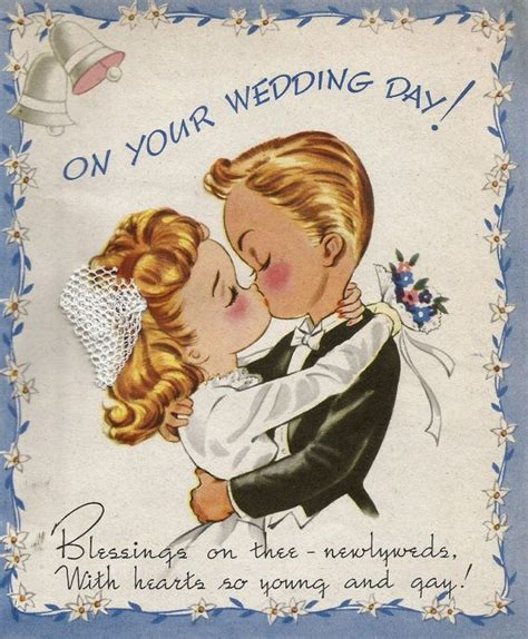 vintage wedding congratulations card newlyweds bride groom vintage greeting cards mothers day