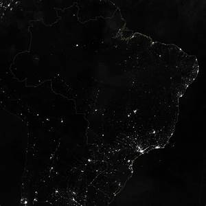 Brazil at Night : Image of the Day