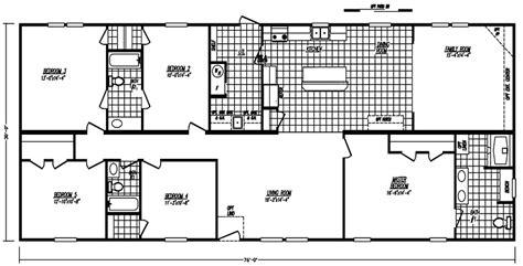 bedroom mobile home floor plan  dream house