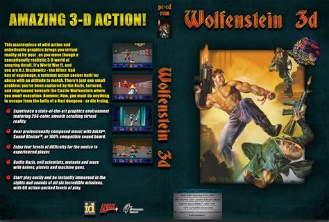 wolfenstein pc box art cover  mikem