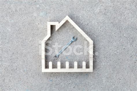Hausbau Renovieren Symbol Stockfotos Freeimagescom