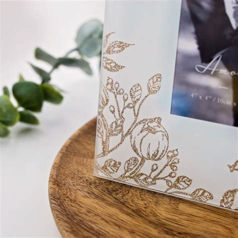 wedding rings photo frame  gift experience