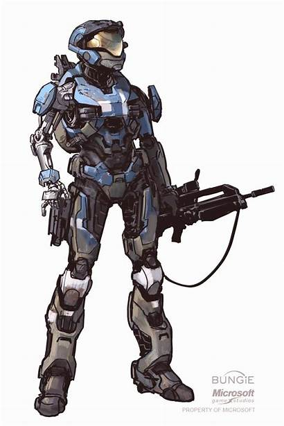 Halo Reach Kat Armor Hannaford Odst Concept