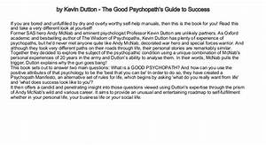 Interesting Biography Books By Kevin Dutton