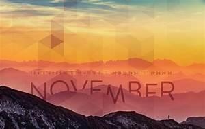 November 2017 Desktop Calendar Wallpaper | Paper Leaf
