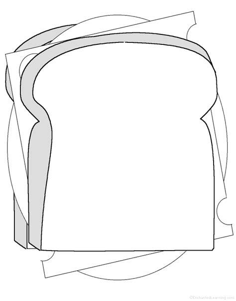 Sandwich Template For Writing Adjectives Describing A Sandwich Printable Worksheet