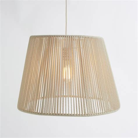 woven pinstripe outdoor pendant modern outdoor hanging