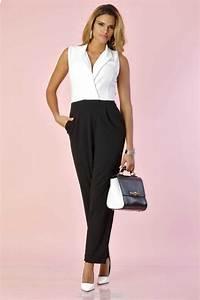 Combinaison Pantalon Femme Habillée : combinaison noire quelques id es de mod les ~ Carolinahurricanesstore.com Idées de Décoration