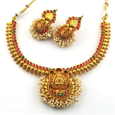 Anvi's Traditional Lakshmi (temple Jewellery) Necklace And. Cut Pearls. Aren Pearls. Light Green Pearls. Jewellery Pearls. Tutorial Pearls. Rsr Pearls. Mom Stevens Pearls. Space Pearls