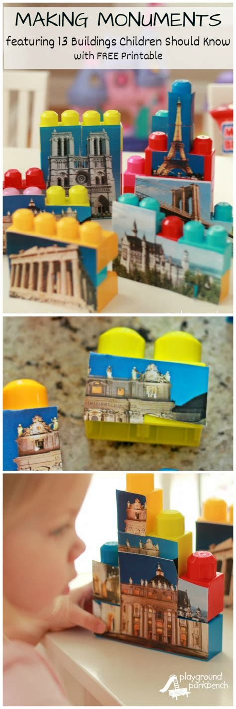 monuments a z of indoor activities 298 | Making Monuments A Z Indoor Activities for Preschoolers