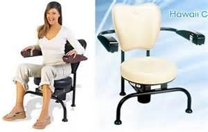 Hawaii Chair Ellen by 10 Wackiest Fitness Products Fitness Products Hawaii