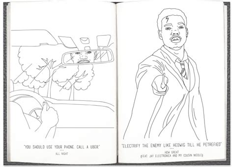 Chance The Rapperの新作『coloring Book』が本当に塗り絵に