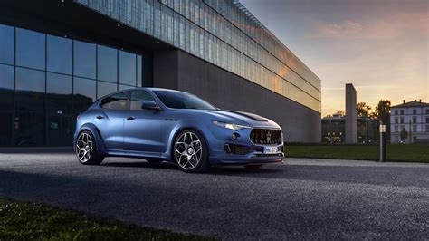 2017 Maserati Levante Esteso By Novitec 2 Wallpaper Hd