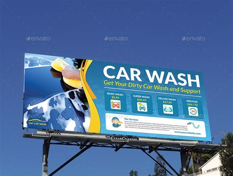 car wash service car wash services advertising bundle template by