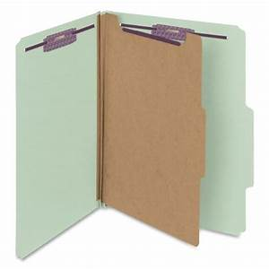 smead pressboard classification file folder with With pressboard classification folders with fasteners letter size
